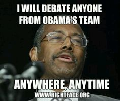 Dr. Ben Carson, a Christian AND a Scientist!  Watch out!!!