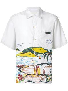Homme Chemise à manches longues chemisiers Loose Design Cuissardes boutons côté fentes Parti L
