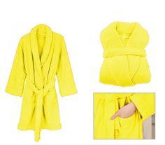 Pánske zavinovacie župany žltej farby Fashion, Dress, Moda, Fashion Styles, Fashion Illustrations