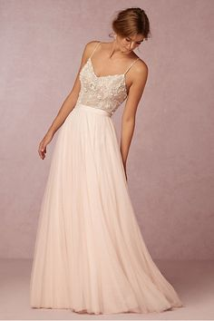 Ella bodysut with Amora skirt | Wedding Skirts & Tops | BHLDN