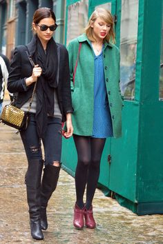 Southern Belles: Taylor Swift and Lily Aldridge