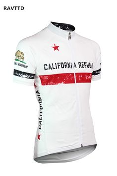 CALIFORNIA REPUBLIC Cycling Jersey Roupa Ciclismo Summer Breathable 100%  Polyester Bike Bicycle Cycling Clothing Bike 7c38181b6