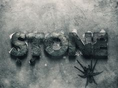 Free 3d Stone Text Style (44.6 MB) | Pixel Mustache | #free #photoshop #psd #text #effect #stone
