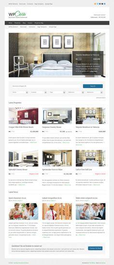 wpCasa WordPress Framework – Real Estate