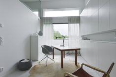 working and studio Divider, Homes, Interior Design, Studio, Modern, Room, Inspiration, Furniture, Home Decor