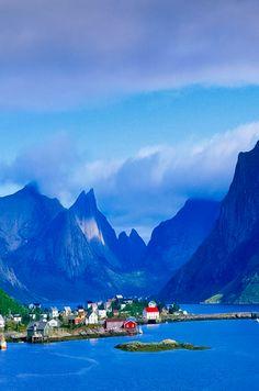Gudvangen, Norvège.