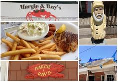 3 places to eat like a local in virginia beach: One of my favorites was Margie and Ray's. #VABeach