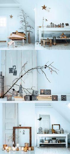 christmas decor  Tree branches decor