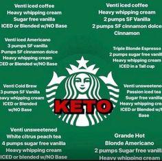 How to order Keto at Starbucks! Screenshot and save! >>> Lose several lbs with keto life. Starbucks Hacks, Low Carb Starbucks Drinks, Café Starbucks, Low Carb Drinks, Starbucks Recipes, Healthy Drinks, Diet Drinks, Secret Menu, Yummy Recipes
