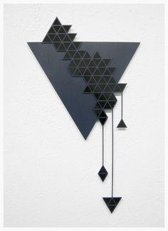 Sandra Fettingis Materials: wood, styrene + paint