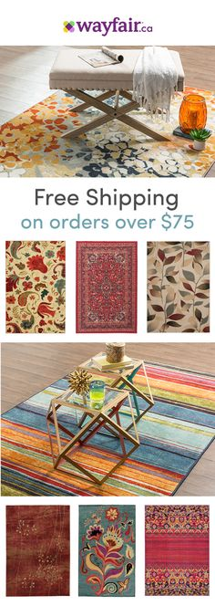 Determine what kind of area rug would fit your room best! Rectangular rugs can be used in all rooms, while round rugs are most popular in entryways or dining rooms. Runners often line hallways, stairc(Best Kitchen Rugs) Round Stairs, Diy Home Decor, Room Decor, Rectangular Rugs, Reno, Round Rugs, My Living Room, Rug Hooking, Furniture Decor