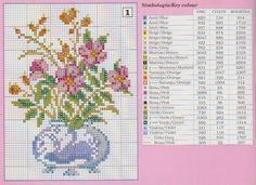 Labores de Beli: Cuadros florales