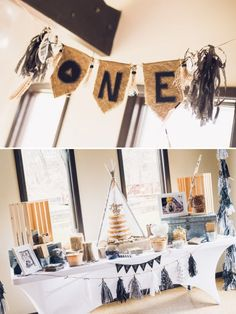 boho style camping birthday party ideas