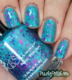 KBShimmer Totally Tubular - Peachy Polish Summer 2013 Collection Review