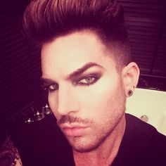 Friday the 13th Glam. That full moon gave me the urge to get Dusted. | Source: Instagram Adam Lambert