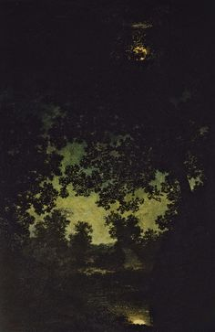 Brook by Moonlight by Ralph Albert Blakelock from Toledo Museum of Art