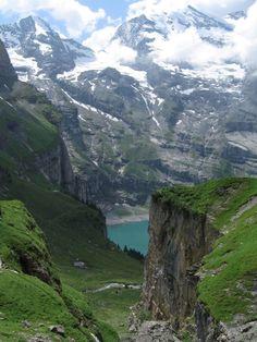 Oeschinen Lake, Bern, Switzerland by jayembee1969