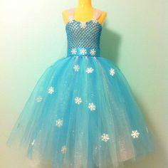 These Are the 65 Ultimate Disney Character Tutu Dresses For Halloween Frozen Elsa Dress Frozen Elsa Dress ($75)