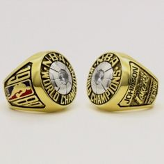 1980 Los Angeles Lakers Basketball World Championship Ring