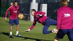 FC Barcelona (@fcbarcelona_br) | Twitter  #Treino