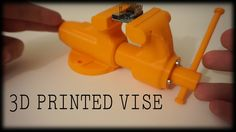 3D Printing a Functional Vise! Created from the Ox Tools, Wilton Baby Bu...