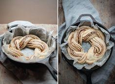 Life twists and sourdough cinnamon and chocolate twist bread |