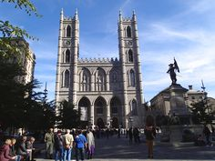 This full day walking tour starts at Notre-Dame Basilica and covers Montreal's highlights.