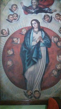 Nuestra Señora de los Ángeles, patrona de nuestra congregación.