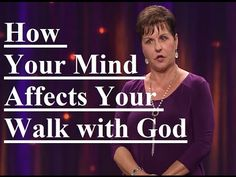 Joyce Meyer Blessed Sermon How Your Mind Affects Your Walk with God Joyce Meyer Sermons, Joyce Meyer Quotes, Joyce Meyer Ministries, Marriage Prayer, Just For Today, Bible Verses Quotes, Scriptures, Beth Moore, Christian Movies