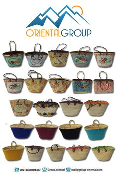 Based in Marrakesh, Oriental Group SARL AU was created in 2012 to tell the story of morocco, and to allow you to discover its tresors. Oriental Group is able to offer moroccan local handcrafted products.  We offer moroccan french bags / Baskets with custom size, motivs and material, allowing you to choose the model that fits with your needs. Our bags are entierly hand made by moroccan skilled artisans, with many years of knowledge, hard work and innovation.