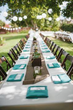Turquoise Wedding Color Theme