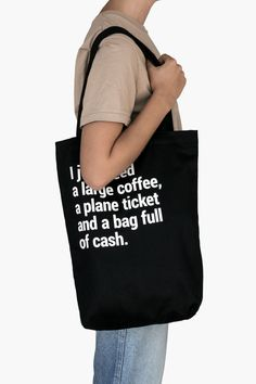 Use it for your day trips, shopping trips, road trips, and all the other adventures. Talking about adventures: this tote bag really-really loves travelling. Wear it proudly. And have fun. Travel Tote, Travel Gifts, Cotton Tote Bags, Reusable Tote Bags, Best Tote Bags, Road Trips, Travelling, Fun, Shopping