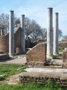 La sinagoga di Ostia antica – Generazione di archeologi Roman Empire, Plants, Ancient Rome, Planters, Plant, Planting
