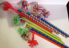Rainbow Loom Birthday Classroom Goody Bag Pencil Toppers Gift