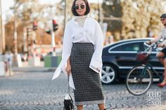The Best Street Style From Paris Fashion Week Spring/Summer 2018