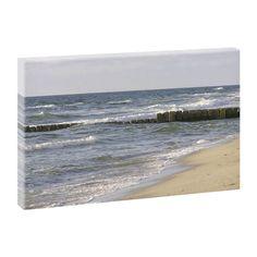 Top Bilder Kunstdruck auf Leinwand XXL- Sylter Strand 3 -100cm*65cm V0420403