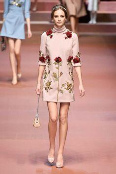 Dolce & Gabbana autumn/winter 15 show collection pictures | Harper's Bazaar