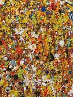 """€425,00   Konzeptionelle experimentelle Malerei, die abstrakte Gegenwartskunst zum Thema Naturraum schafft.  Der chaotische Farbauftrag kombiniert mit subtilen räumlichen Effekten der Malerei lässt """"Organisches"""" entstehen, das durch die Größe des Bildes """"abgesteckt"""" wird.   Gemalt wurde mit einer Mischtechnik, bestehend aus Acryl, wasservermischbarer Ölfarben und Lacken. """"Gemalt"""" trifft  bei diese"""