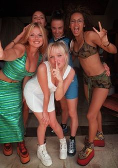 Spice Girls - One of my first shoe inspirations. I had at least 3 pair of ridiculous platform sneakers (I even bought a pair in Paris, hahaha)