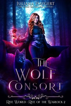 The Wolf Consort by Juliana Haygert. Seems like a typical urban fantasy cover starring your standard badass, right? Ya Books, I Love Books, Good Books, Fantasy Books To Read, Fantasy Book Covers, Book Suggestions, Book Recommendations, Book Cover Design, Book Design