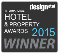 winner of the HOTEL AND PROPERTY AWARDS \ JUNE 2015