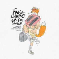 fear loathing red fox in las vegas.