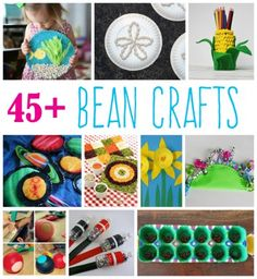 45+ Bean Crafts for Kids - (Bean Day is January 6th!)