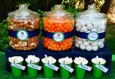 Clever Food Display  Lets Play Ball Sports Party {Boys Birthday}