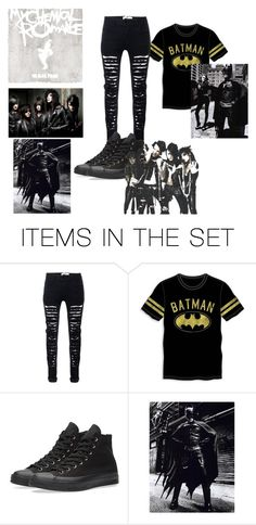 BATMAN by xxbladeangelxx on Polyvore featuring art
