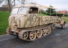 A beautifully restored Steyr RSO artillery tractor
