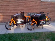 Robinson-Solutions Professional Window Cleaning: Cargo Bike Window Cleaners
