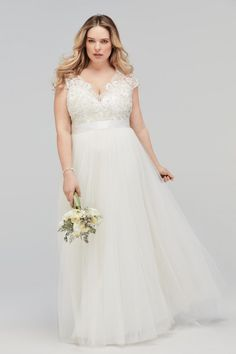 Plus Size Bridal Dresses, Plus Wedding Dresses, Plus Size Gowns, Dress Plus Size, Plus Size Wedding, Modcloth Wedding Dress, Dress For Chubby, Bridal Gowns, Wedding Gowns