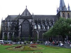 Saint Pauls Cathedral in Liege, Belgium