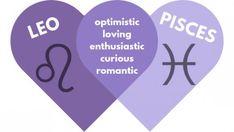 Pisces and Leo Relationship Compatibility (A Love Match Made in Heaven) Pisces And Leo Compatibility, Libra Love Horoscope, Pisces And Taurus, Astrology Pisces, Zodiac Signs Pisces, Pisces Quotes, Pisces Facts, Astrology Signs, Quotes Quotes